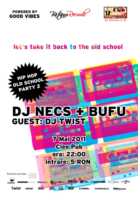 dj necs bufu dj twist hip hop old school party 2 cleo pub