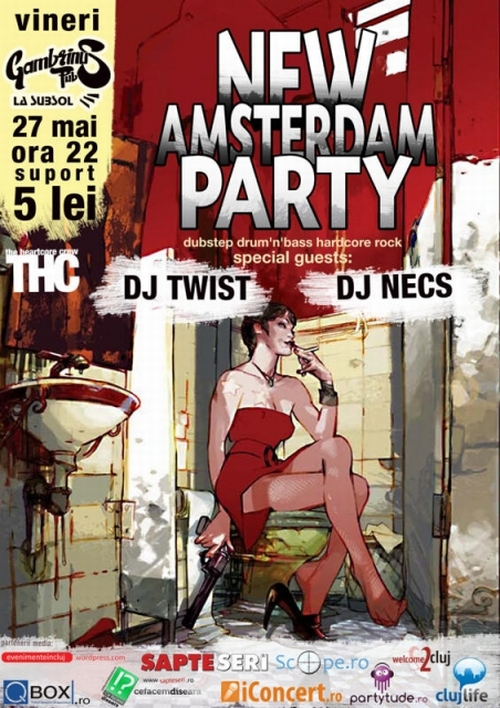 New Amsterdam Party @ Cluj-Napoca