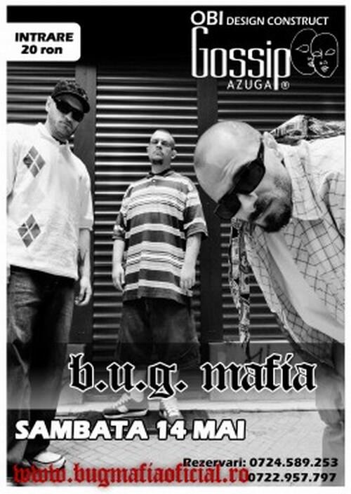 B.U.G. Mafia Concert Gossip
