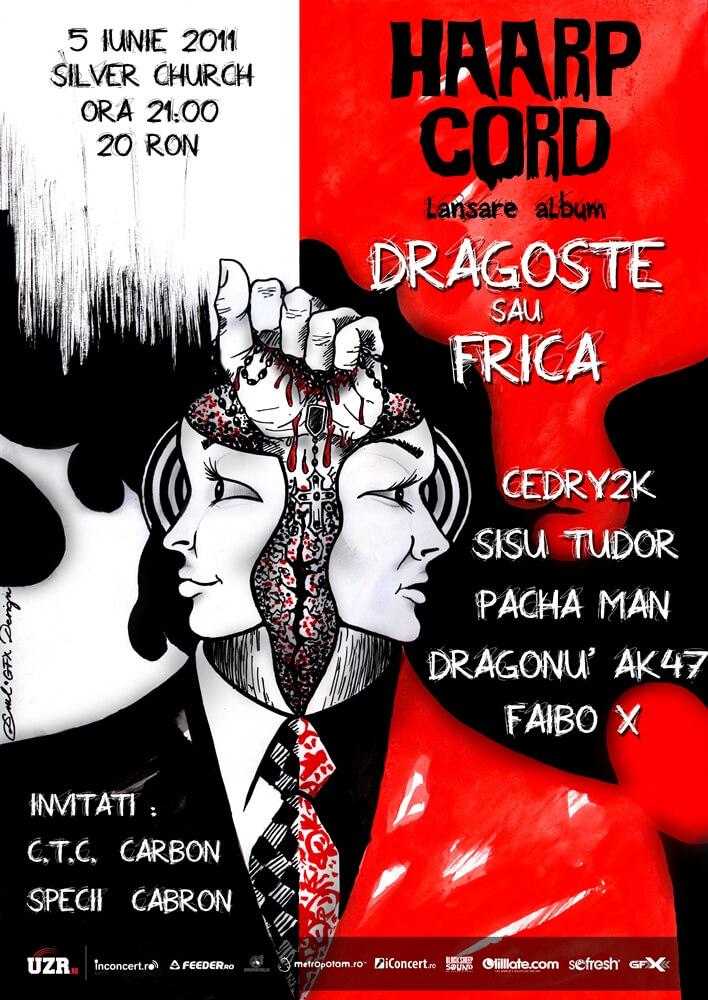 "Lansare ""HAARP CORD - DRAGOSTE SAU FRICA"" | 5 Iunie | Silver Church"